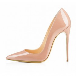 SKYE-120PN Patent Stiletto Heel Pumps